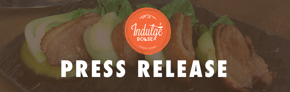 Indulge Boise Press Release Header